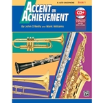 Accent On Achievement Book 1 Alto Saxophone