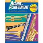Accent On Achievement Book 1 Baritone Treble Clef