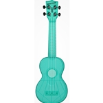 Waterman Soprano Ukulele Fluorescent Blue Raspberry