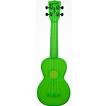 Waterman Soprano Ukulele Fluorescent Green Sour Apple