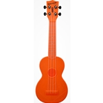 Waterman Soprano Ukulele Fluorescent Orangesicle