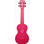 Waterman Soprano Ukulele Fluorescent Pink Watermelon