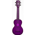 Waterman Soprano Ukulele Fluorescent Purple Grape