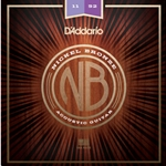 DAddario Nickel Bronze Acoustic Strings 11-52 Custom Light
