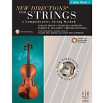 New Directions For Strings Book 1 Violin Book/CD