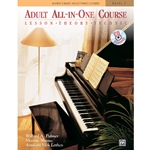 Alfreds Basic Adult All In One Piano Course Level 1 Book and CD