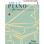 Faber Adult Piano Adventures All In One Level 1 Lesson Book