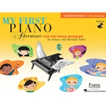 My First Piano Adventure Pre Reading Level A Lesson Book and CD