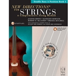 New Directions For Strings Book 1 Double Bass A Book/CD