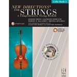 New Directions For Strings Book 1 Cello Book/CD