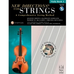 New Directions For Strings Book 1 Viola Book/CD
