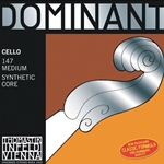 Dominant Cello String Set 4/4 147 Medium Tension