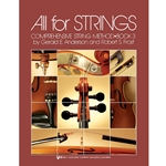 All For Strings Cello Book 3