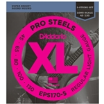 D'Addario Pro Steel 5-String Bass Strings Light