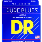 DR Pure Blues Nickel Bass Strings Medium