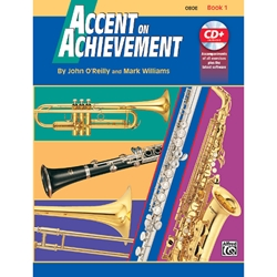 Accent On Achievement Book 1 Oboe
