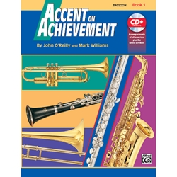 Accent On Achievement Book 1 Bassoon