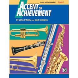 Accent On Achievement Book 1 Piano Accompaniment