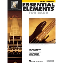 Essential Elements for Band Book 1 Electric Bass