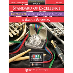 Standard of Excellence Book 1 Timpani And Auxillary Percussion