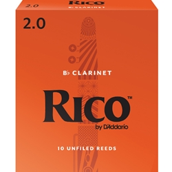 Rico Clarinet Reeds 2 Box of 10