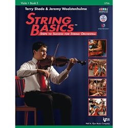 String Basics for Viola Book 3 w/CD