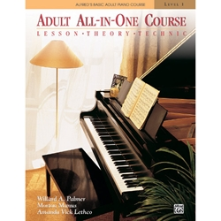 Alfred Basic Adult All In One Piano Course Level 1