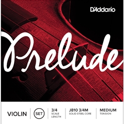 Prelude Violin String Set 3/4 Medium Tension