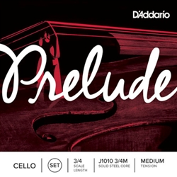 Prelude Cello String Set 3/4 Medium Tension
