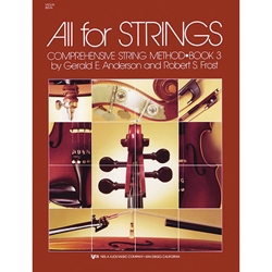 All For Strings Violin Book 3